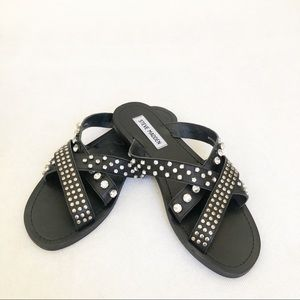 Steve Madden brand new studded sandals size 7.5